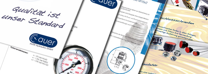 AUER Hydraulics GmbH  Katalog - Download